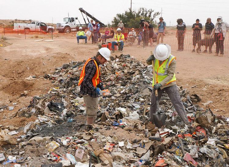 Excavation of Atari Video Games