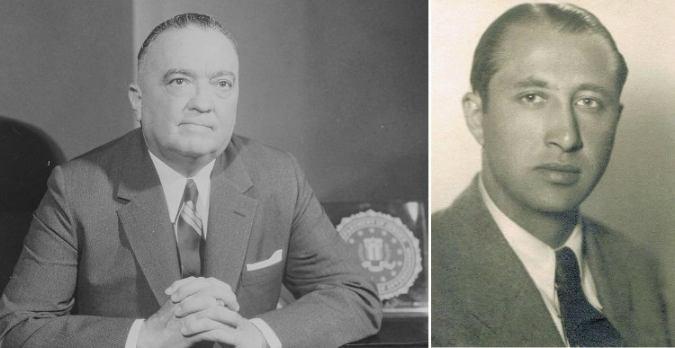J. Edgar Hoover and Dusko Popov