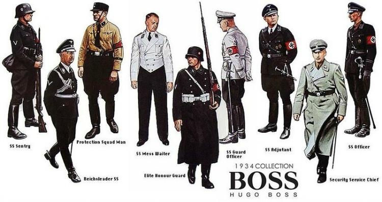 Hugo Boss nazis