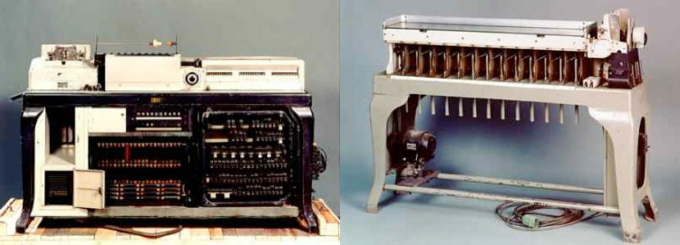 IBM Punching machines
