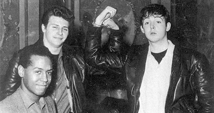 Paul mccartney and pete best