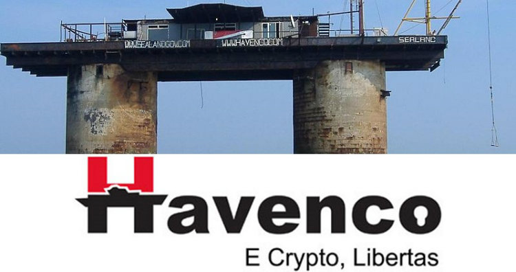 Sealand and Havenco logo