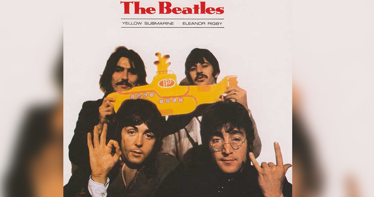 The Beatles Devil Horns