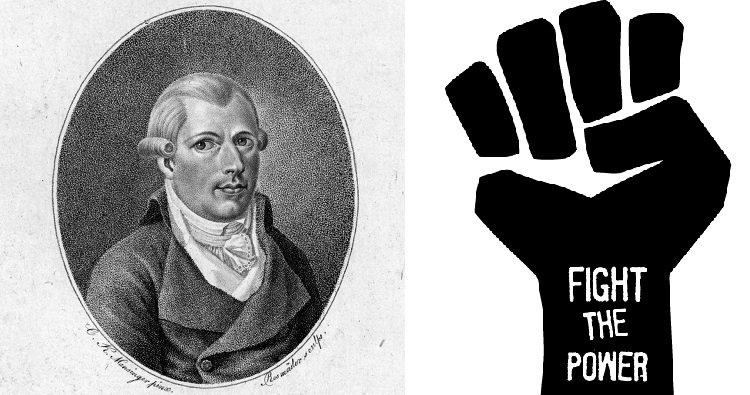 Illuminati founder and fist