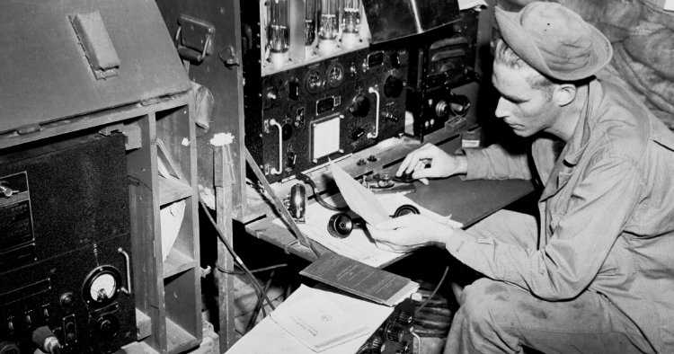 WWII radio operator
