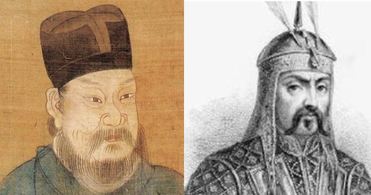 Yelu Chucai and General Subutai.