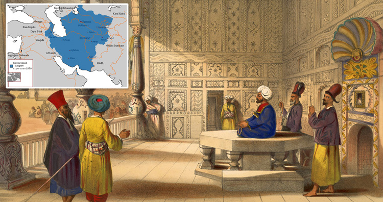 Khwarezmid Empire.