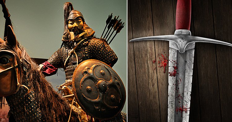 Genghis khan's killings