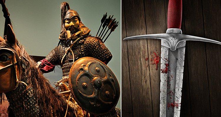 Genghis khan's killings