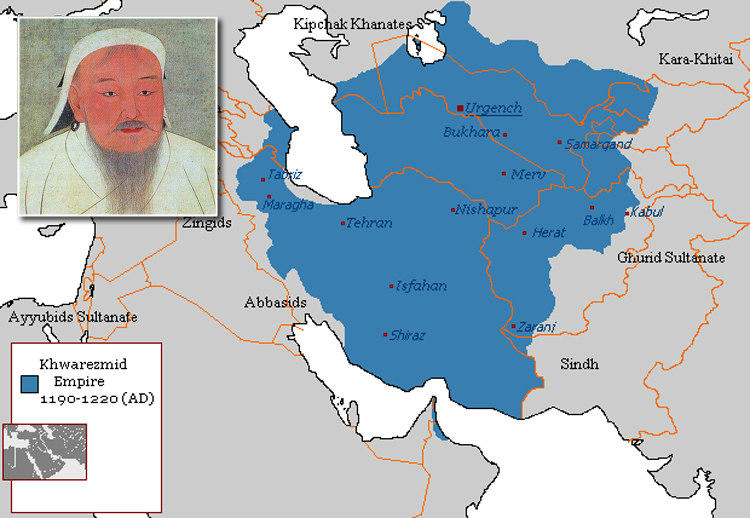Genghis Khan and Khwarezmian Empire