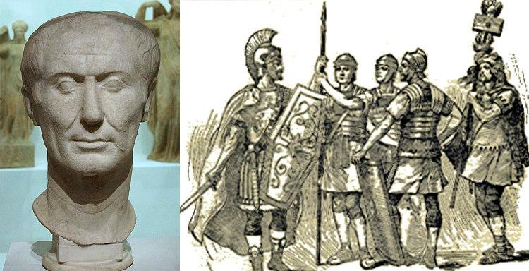 Julius Caesar's Pirates Incident