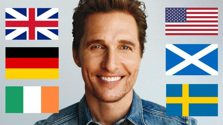 Matthew McConaughey Ancestry