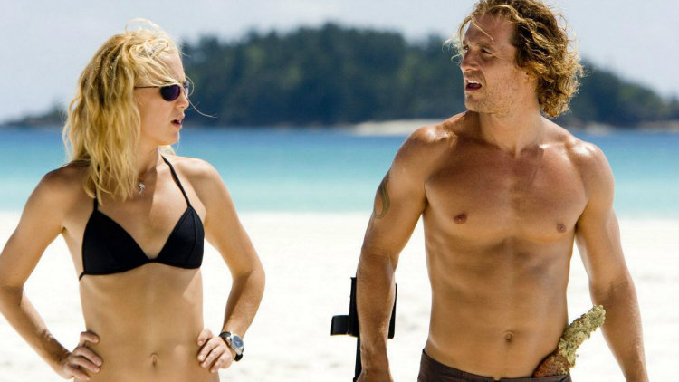 Matthew McConaughey and Kate Hudson in Fool's Gold
