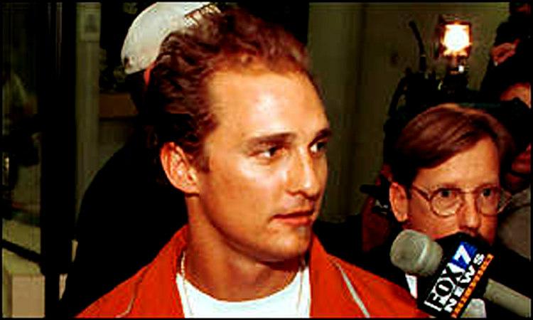 Matthew McConaughey's Arrest