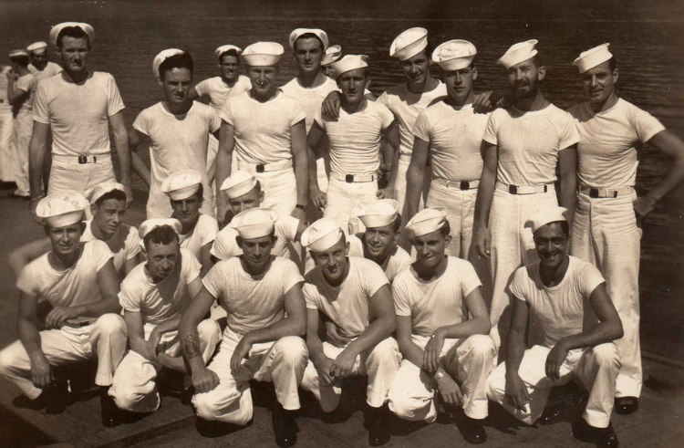 Sailors in Earlier Version of T-Shirts