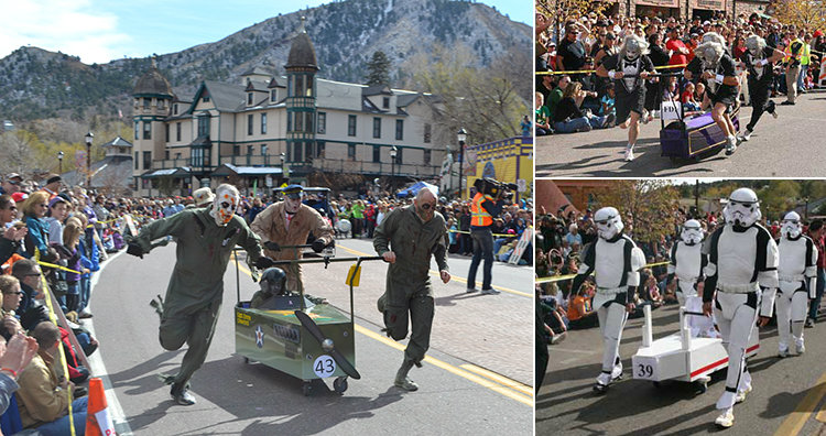 coffin race