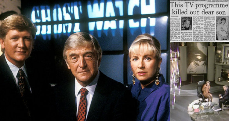 Ghostwatch and newspaper
