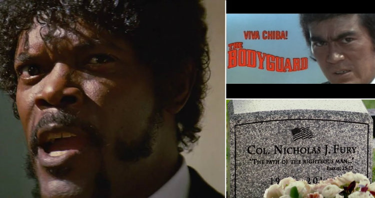Samuel L. Jackson and Bodyguard and Fury grave