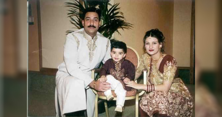 Amarjit Chohan, his wife Nancy and their son Devinder