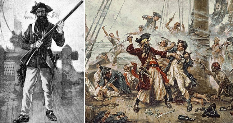 Edward Teach aka Blackbeard