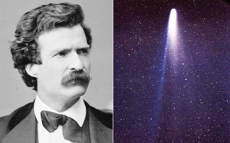 Mark Twain and Halley's Comet