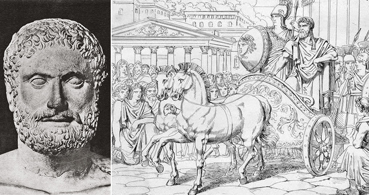Peisistratus the Tyrant of ancient Athens