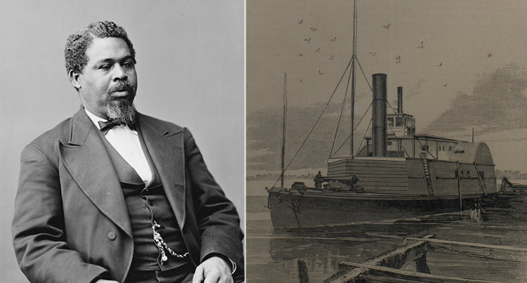 Robert Smalls and CSS Planter