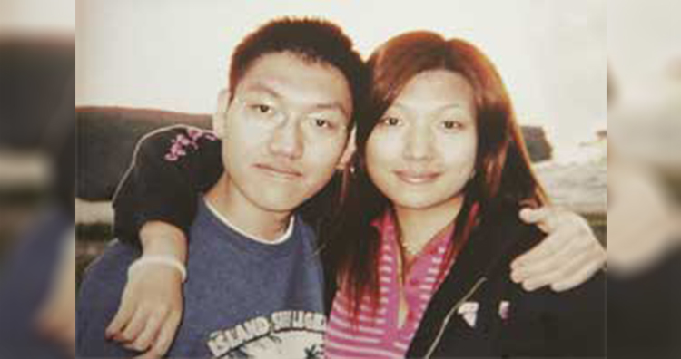 Simon ng and Sharon ng