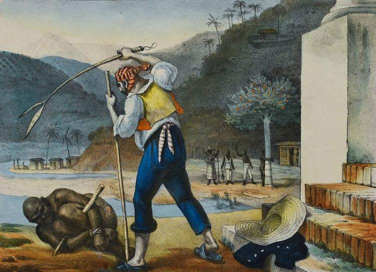 Slavery in Brazil, by Jean-Baptiste Debret