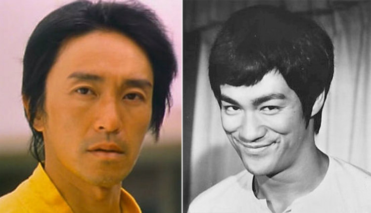 Stephen Chow Inspired by Bruce Lee
