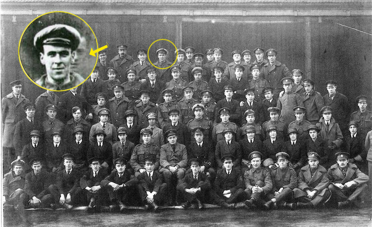 WWI Airman Ghost of Goddard's Squadron