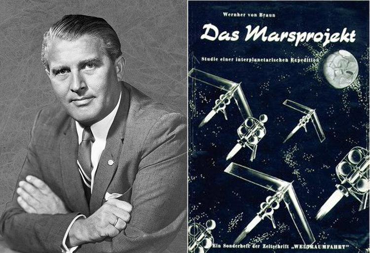 Wernher von Braun's The Mars Project