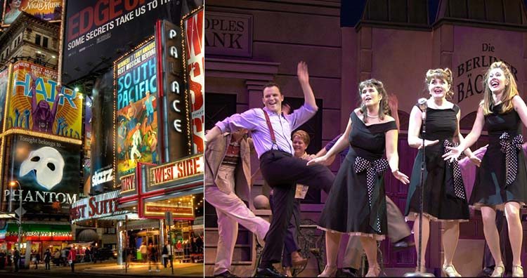 Broadway and musical theater show