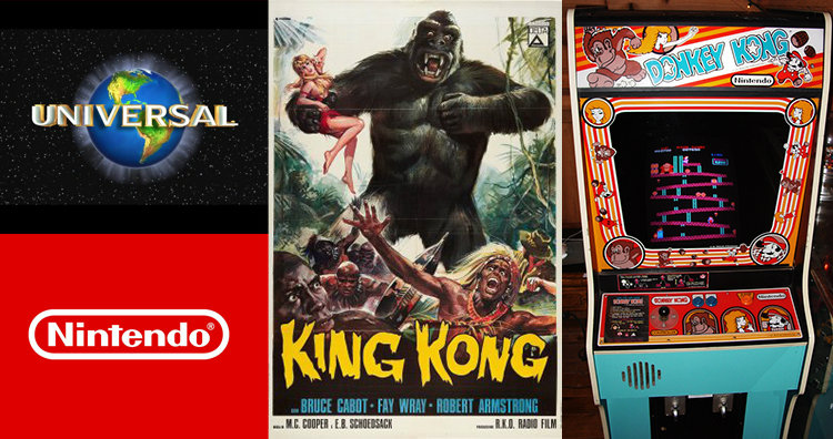 king kong and donkey kong