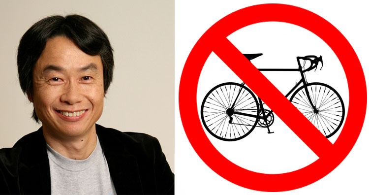 miyamoto and mountain-bicycle-silhouette