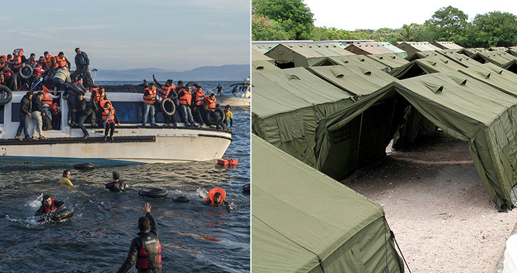 Refugees and Nauru detainment camp