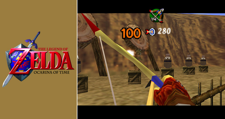 Zelda Ocarina of Time first person