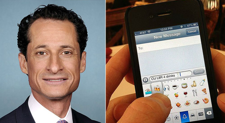 Anthony Weiner Sexting Scandals