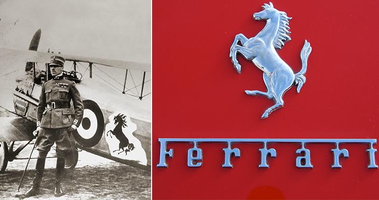 Ferreari Logo Past and Now
