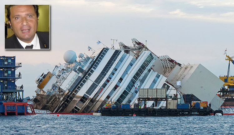Francesco Schettino and Costa Concordia