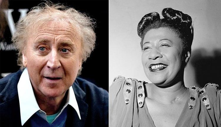 Gene Wilder and Ella Fitzgerald