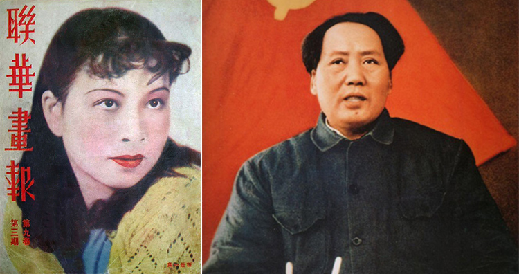 Jiang King and Mao Zedong