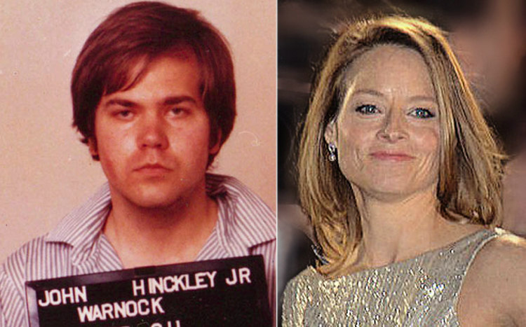John Hinckley Jr. and Jodie Foster