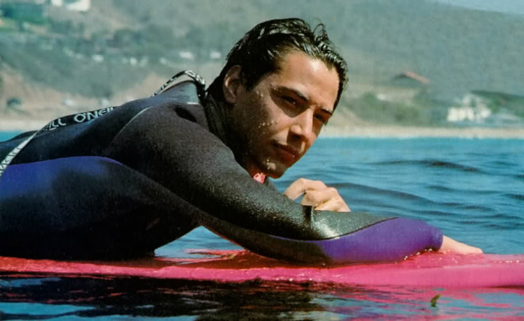 Keanu Reeves in Point Break