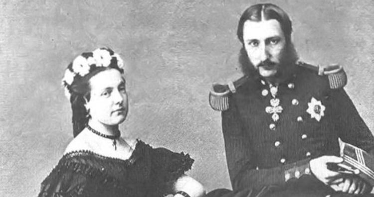 Marie Henriette and Leopold II of Belgium