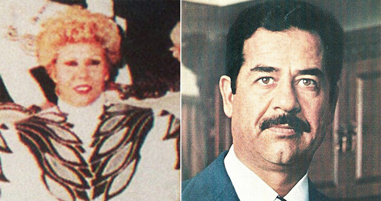 Sajida Talfah and Saddam Hossein