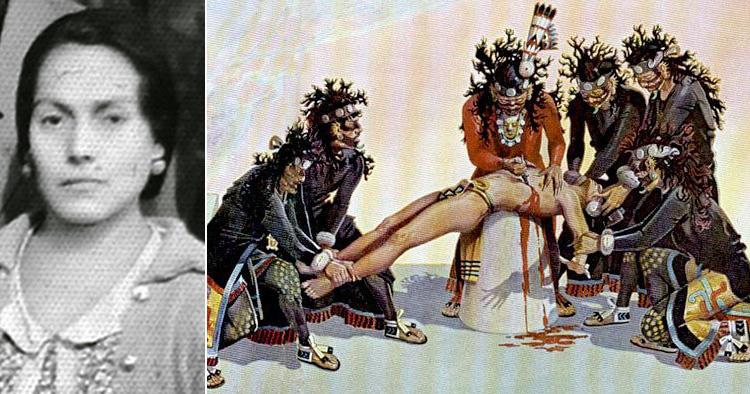Solis and human sacrifice