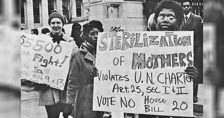 Sterilization protest