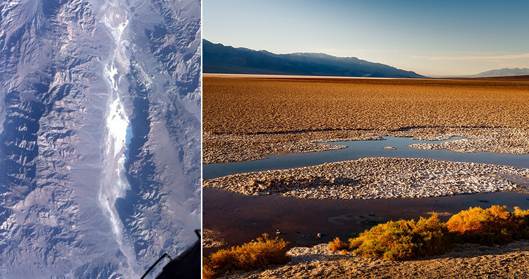 The Death Valley, California
