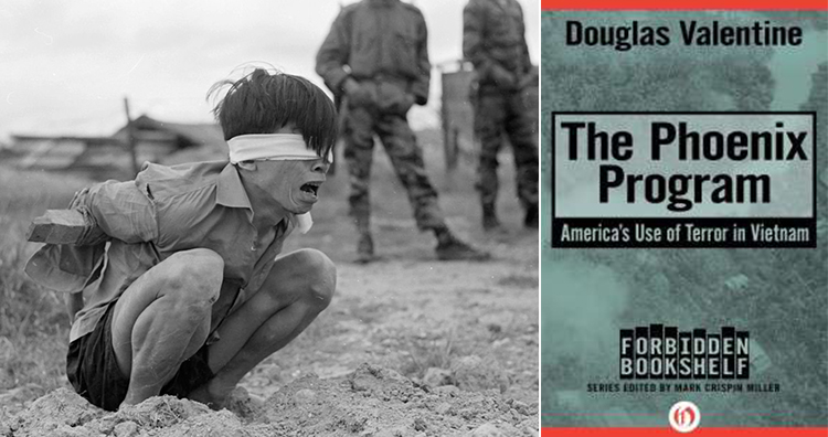 Viet Cong Interrogation, Book The Phoenix Program by Douglas Valentine